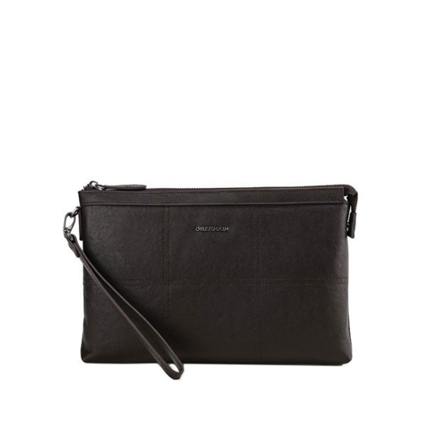 Clutch - L In Dark Brown