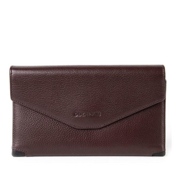 Long Wallet In Maroon
