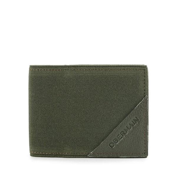 Card Holder In Olive