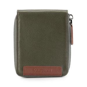 Standard Zip Around Wallet In Olive