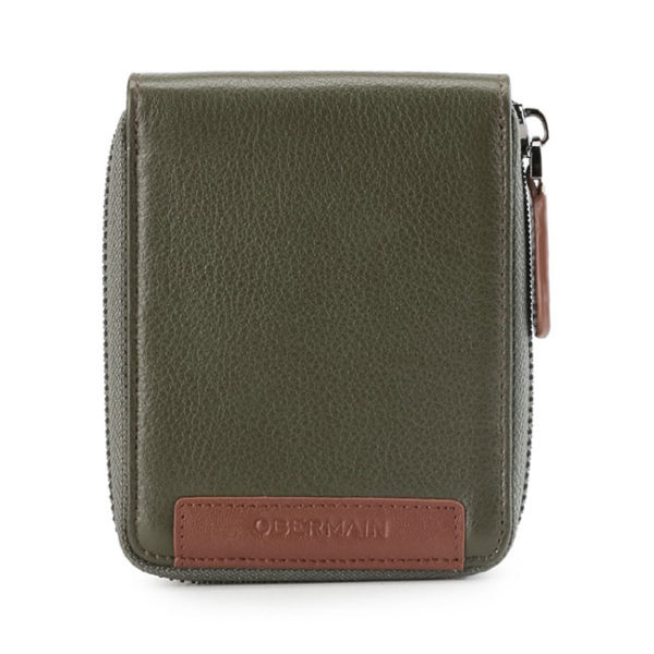 Standard Zip Around Wallet In Olive