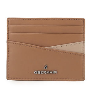 Pearlyn Card Holder In Camel