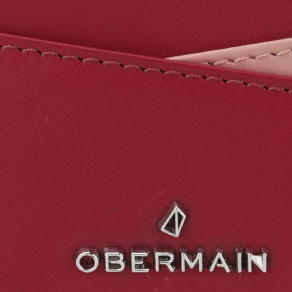 Pearlyn Card Holder In Red