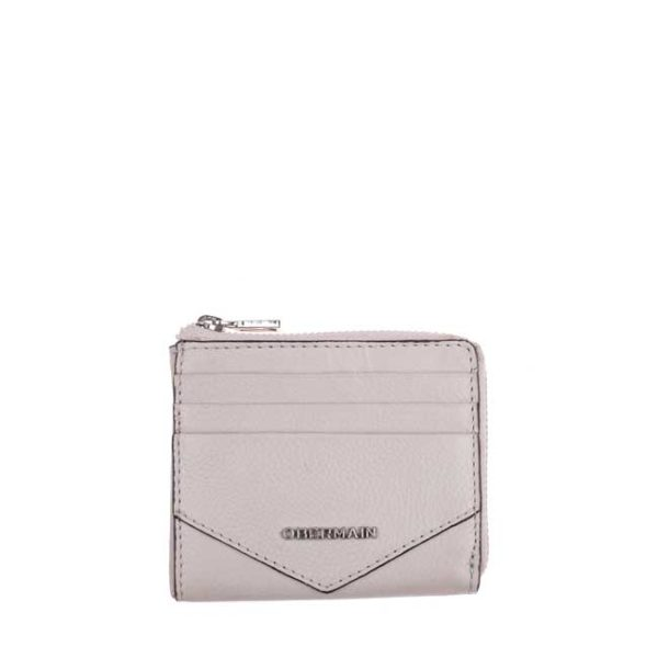 Quin Card Holder In Taupe