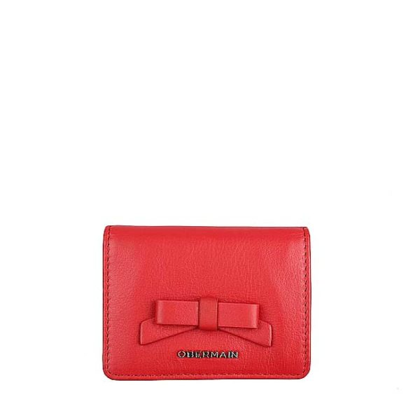 Ribonny Card Holder In Red