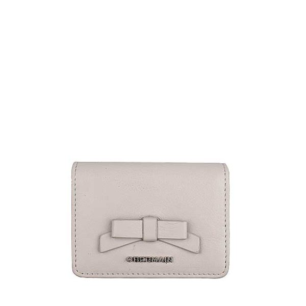 Ribonny Card Holder In Taupe