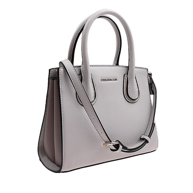 Judy Top Handle (L) in Cool Grey