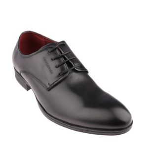 ALAN HENRY - LACE UP In DARK GREY