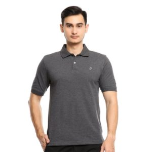 ALEX SS POLO In DARK GREY