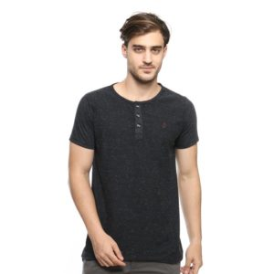 ABRAM SS HENLEY In BLACK