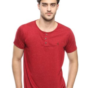 ABRAM SS HENLEY In RED