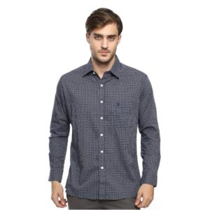 ADAM LS SHIRT In NAVY