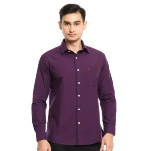 ADRIEL LS SHIRT In PURPLE