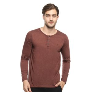 ABEL LS HENLEY In BROWN