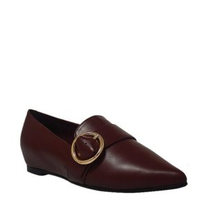 JANET SOPHIE  -  LOAFER In MAROON