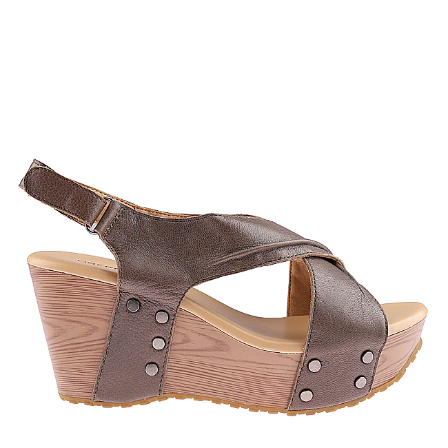 MADELINE CLAUDIUS  -  SLINGBACK In OLIVE