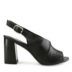 MADILYN CLAUDE - SLINGBACK In BLACK