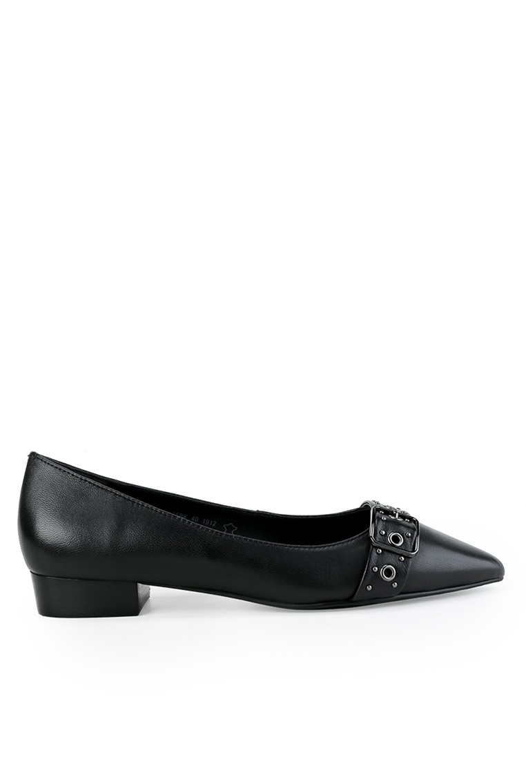 GIANA JANIE - SLIP ON in BLACK