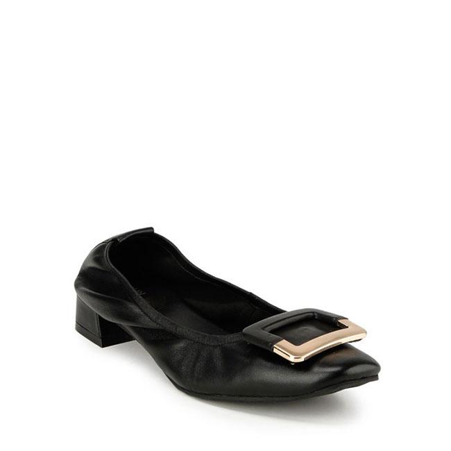 ALVINA DAVINA - SLIP ON in BLACK