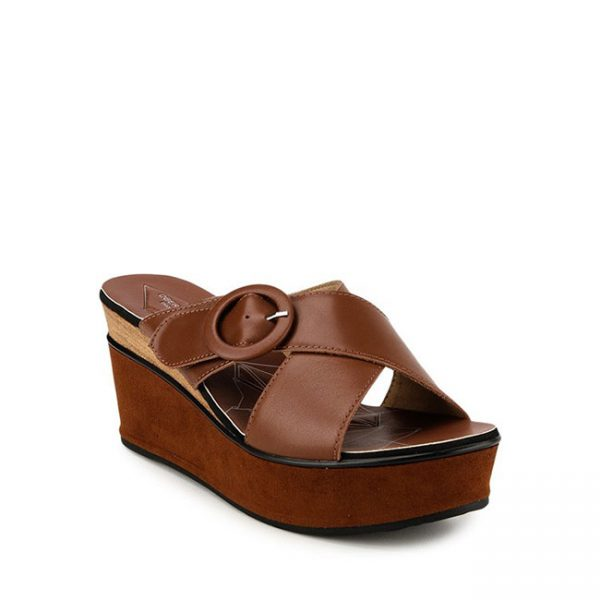 MARIDITH JUSTYNE - CROSS in BROWN