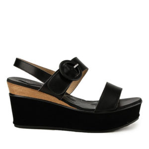 MARIDITH JUSTYNE - SLINGBACK in BLACK