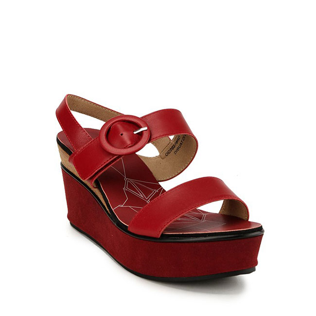 MARIDITH JUSTYNE - SLINGBACK in RED