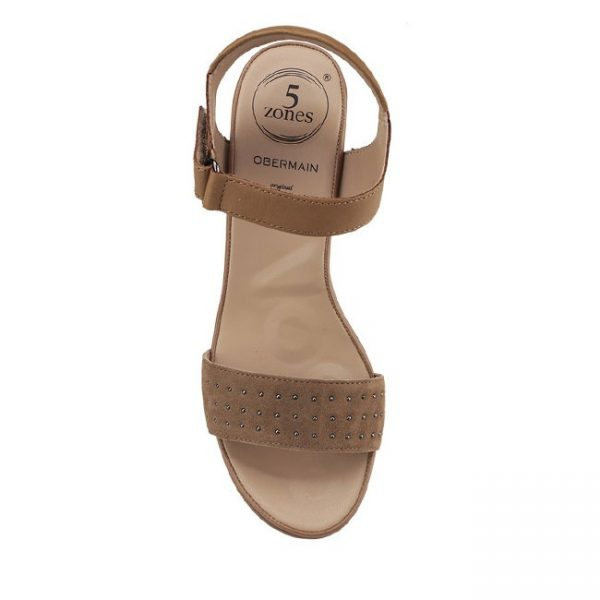 NOREE NADYA - ANKLE STRAP In CAMEL
