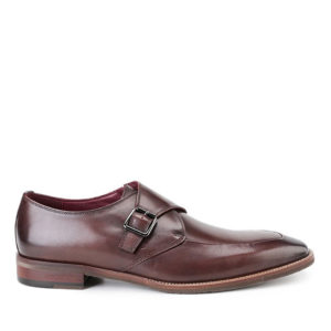 ALFRED TEIGEN - MONK STRAP in DARK BROWN