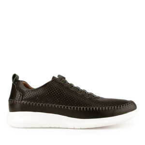 CALBERT STETON I- ELASTIC SLIP ON in BLACK