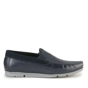 CARLOS PINO - PLAIN SLIP ON In NAVY