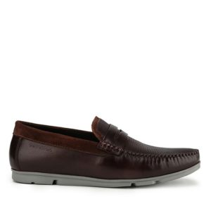CARLOS PINO - STRAP SLIP ON In BROWN