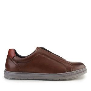 CORRICK STEPHENS - SLIP ON ELASTIC  In BROWN