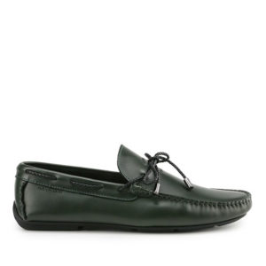 CRASTON SHOVON - RIBBON SLIP ON in GREEN