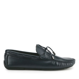 CRASTON SHOVON - RIBBON SLIP ON in NAVY
