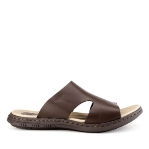 GILSON EDGAR - SLIDE In DARK BROWN