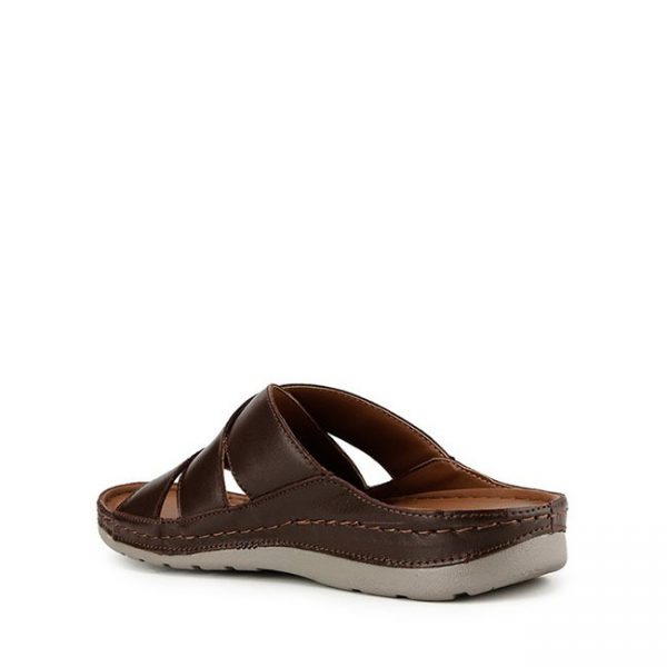 GINO PHIPS - 3 STRAP In BROWN